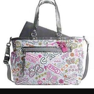 Coach Poppy Diaper Bag